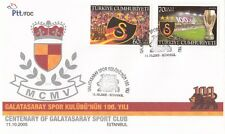 TURCHIA-TURKEY  2005 Centenario Galatasaray 3234-35 Fdc usato