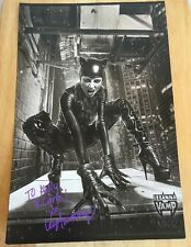 Leeanna Vamp Cosplay Cat woman Signed Autographed Comic Con Picture 11x17