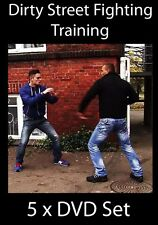 Street Fighting Training - 5 x DVD Set - Learn to Fight & Win - MMA Boxing