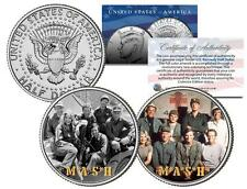 MASH * TV SHOW * Colorized JFK Half Dollar 2-Coin Set Hot Lips Houlihan Radar