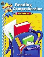 Reading Comprehension Grd K by Becky Wood (2011, Paperback, New Edition)