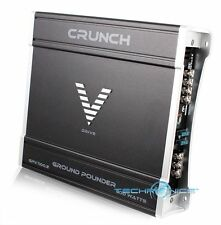 CRUNCH GPV1100.2 2 CHANNEL 1100W MAX CLASS AB MOSFET CAR AUDIO POWER AMPLIFIER