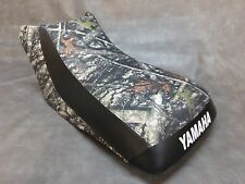 Yamaha Timberwolf 250 Seat Cover  in 2-TONE CONCEAL & BLACK or 25 colors    (ST)