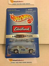 Edelbrock 1963 Corvette Sting Ray * w/ Real Riders * Hot Wheels * W2