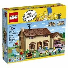 LEGO THE SIMPSONS HOUSE 71006 New Sealed Play Set Bart Homer Lisa