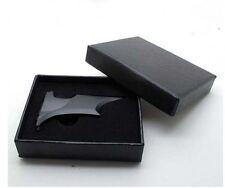 Matte Black Batman Money Clip Magnetic Folding w/ Gift Box free shipping