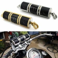 Motorcycle Motorbike Handlebar Bluetooth Speaker Stereo MP3 FM Radio Waterproof
