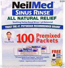 NEW NEILMED THE ORIGINAL & PATENTED SINUS RINSE ALL NATURAL RELIEF SOOTHING CARE