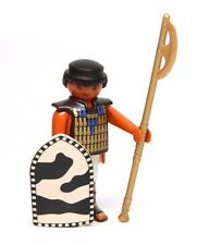 Playmobil Figure Egyptian Soldier w/ Gold Axe Shield 4245
