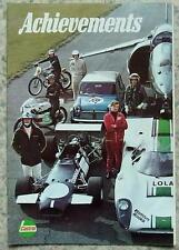 CASTROL MOTOR SPORT SUCCESSI SUCCESSI RECORDS 1969 Lola t70 FORMULA UNO