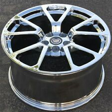 Set(4) 20x8.5/20x10 5X120 CTS-V Style PVD Chrome Wheels Rims Cadillac CTS CTS-V