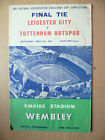 1961 FA Cup Final TIE- LEICESTER CITY v TOTTENHAM HOTSPUR, 6th May (Org*)