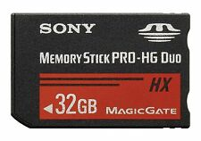 32GB Sony Memory Stick PRO-HG Duo HX High-Speed Memory Card for Sony