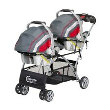 Infant Double Stroller Seat Classic Twin Tandem Baby Child Boy Girl Car Seat