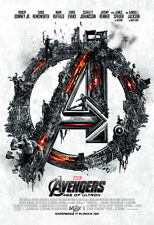 AVENGERS AGE OF ULTRON MOVIE POSTER 1 Sided ORIGINAL MINI SHEET 13x19
