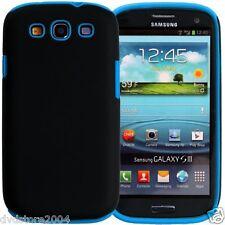 Custodia IBRIDA AZZURRA per Samsung Galaxy S3 I9300 I9300I I9305 Cover Bumper