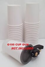 25pk 32oz Disposable Paper Cups for ES Manufacturing G100 Cup / Dump Gelcoat Gun