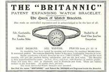 WW1 Britannic Patented Expanding Watch Bracelet Acknowledged To Be The Best