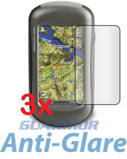 3x Anti-Glare Matte LCD Screen Protector for Garmin Oregon 450 450t 550 550t GPS