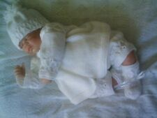 "KNITTING PATTERN BABY NEWBORN OR REBORN DOLL 17""~18"" (patt33)"