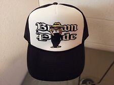 BROWN PRIDE MESH BASEBALL CAP