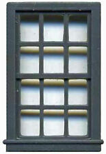 """52"""" X 33"""" DOUBLE HUNG WINDOW  8 PANE N Model Railroad Structure Detail GL8009"""
