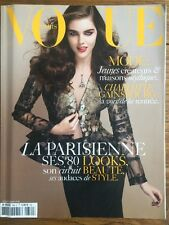 VOGUE PARIS Août 2006 Hilary Rhoda La Parisienne Charlotte Gainsbourg Look Mode