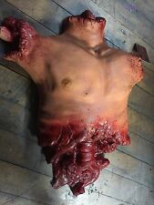 Torso Chest Halloween Prop Gory Bloody Horror Haunted House Decoration