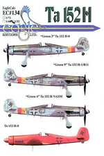 EagleCals Decals 1/32 FOCKE WULF Ta-152H Fighter Part 2
