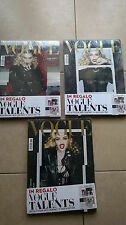 VOGUE Italia MADONNA 3 different covers 798 February 2017 Polaroid Issue S Klein