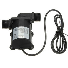 DC 12V 6M 1000L/H Electric Solar Brushless Motor Water Aquarium Fountain Pump
