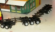 B DOUBLE CONTAINER TRAILER COMBO Road Train 23cm long HO 1/87 Scale Custom HERPA