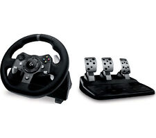 Logitech Driving Force G920 Xbox One and PC Racing Wheel and Pedals Black