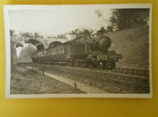 POSTCARD RP GWR LOCO NO 2237 DOWN NEWBURY LOCAL