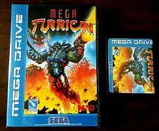 MEGA TURRICAN-Sega Megadrive-PAL-RARO GIOCO r.e.p.r.0.new