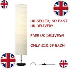 IKEA Holmo Floor lamp rice paper shade soft mood light  New FREE UK DELIVERY !!