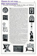 Selva Negra madera arte schnitzkunst XL página 1920 informe schnitzersepp tallar