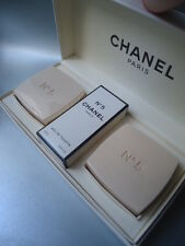 CHANEL No5 RARE VINTAGE 1980s 19ml EDT & 2x 75g BATH SOAP COFFRET NEAR MINT BOX