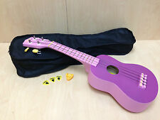 Stagg 54CM Ukulele Purple w/Free Gig bag-Perfect Gift for Kids ( 5 Colors )