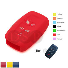 Silicone Skin Cover fit for LAND ROVER LR4 Range Rover Smart Key Case CV4702 RD