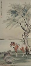 Excellent Chinese Scroll Painting By Ma Jin P606