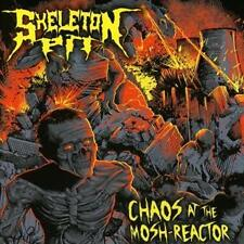 SKELETON PIT CHAOS AT THE MOSH REACTOR CD NEU OVP Thrash Metal