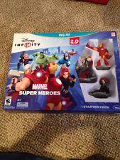 Disney Infinity: Marvel Super Heroes (2.0 Edition)  (Nintendo Wii U, 2014)