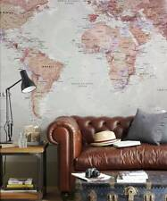 Executive World Map Wallpaper