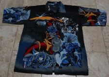 Men K. A. D. Clothing Co. Multi Color Size XXL Japanese Anime Shirt