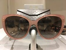 SUNGLASSES GUCCI GG 3804/S R4JJ6 PINK MARBLE GOLD METAL 57/17 DISCOUNT 50%