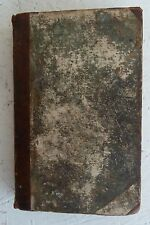 Vintage Book: 1825 History Ancient Greece John Gillies  Map Fine Binding