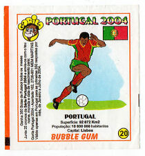 Portugese Gorila Wax Wrapper Euro 2004 - Team Colours & Flag #20 Portugal Type 2