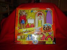"Baywatch Playsets 1997 ""20 pieces"" C.J Parker 11"" Dolls [Pamela Anderson ] MIB!!"