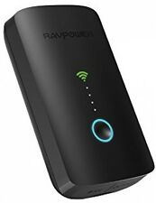 RAVPower Filehub PLUS Wireless Router da viaggio, SD CARD READER USB Portable Hard